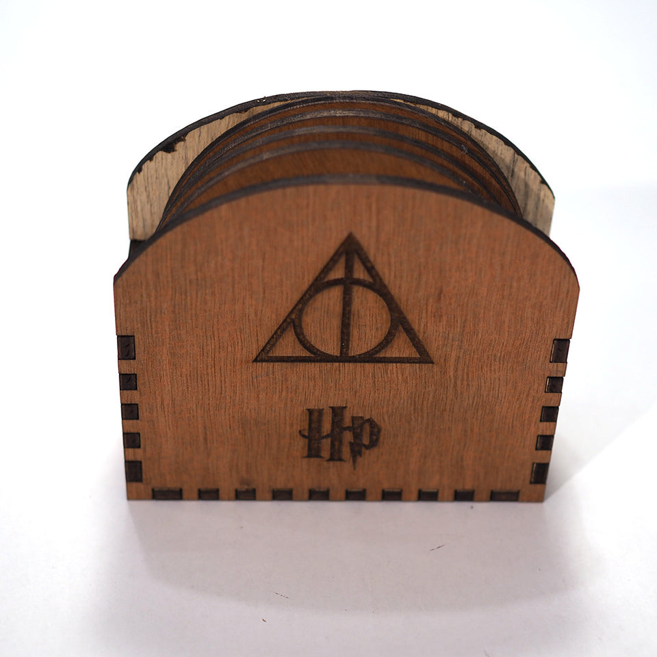 Harry Potter Coasters - Harry Box - All Hogwarts Houses