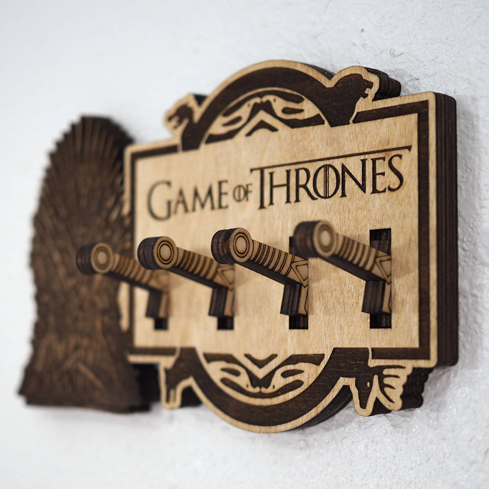 Game of Thrones Key Holder - Iron Throne