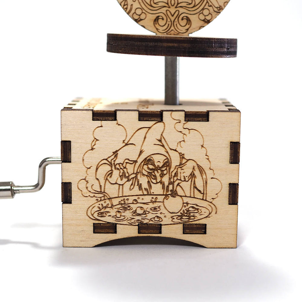 Snow White Music Box - Some Day My Prince Will Come.