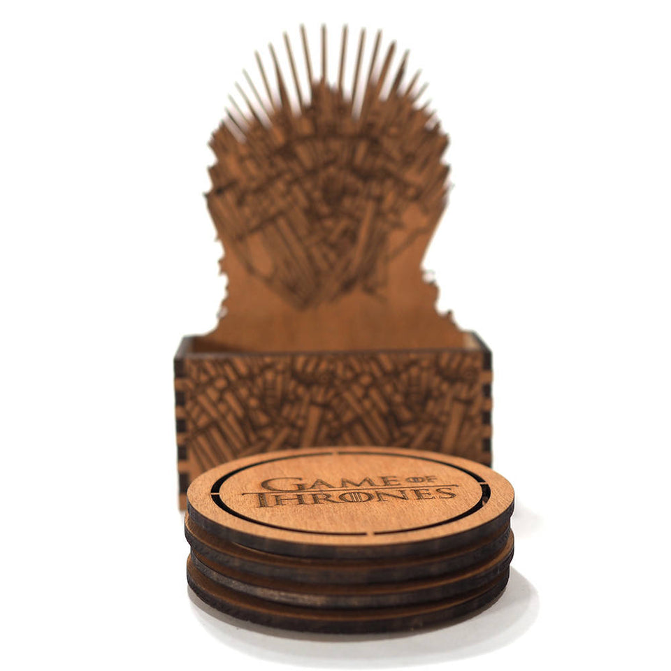 Game of Thrones Coasters - Iron Throne