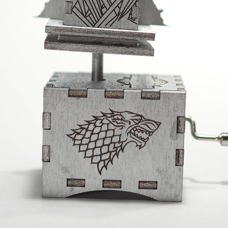 Game of Thrones Music Box - Valyrian Steel - Iron Throne Opening Theme.