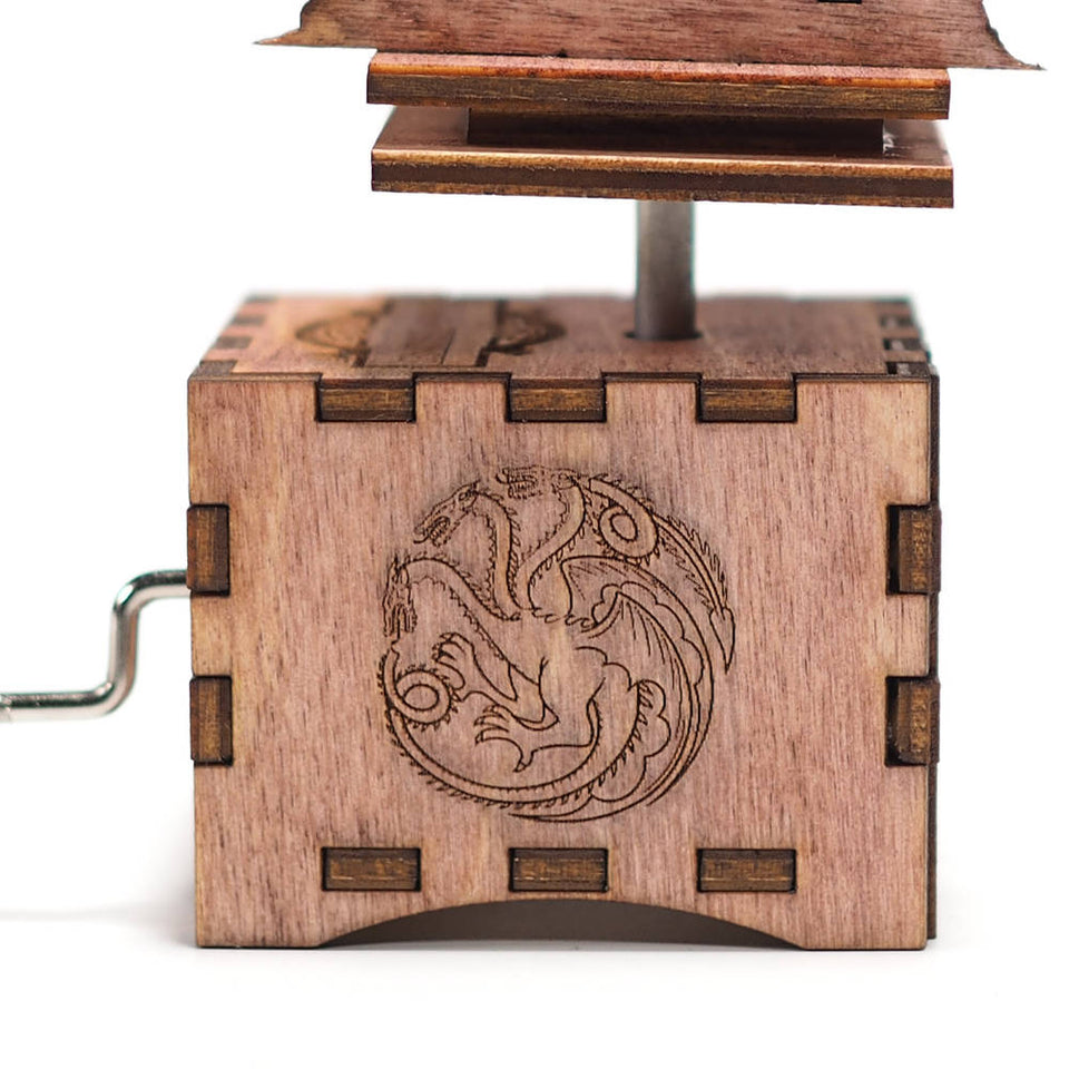 Game of Thrones Music Box - Mahogany Stain - Iron Throne Opening Theme.