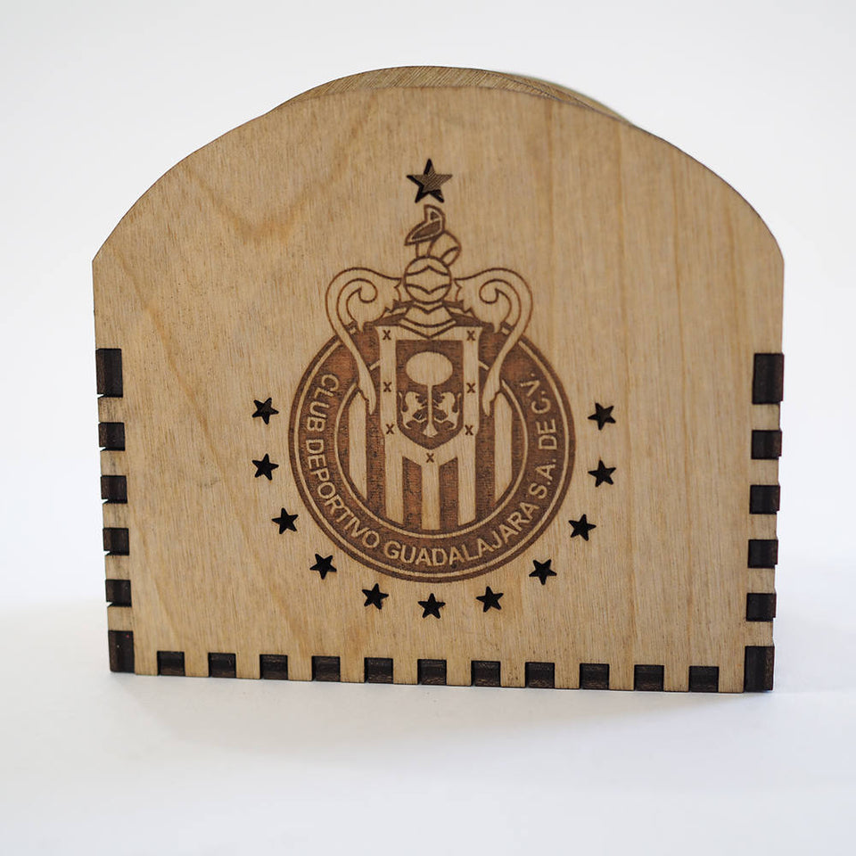 Chivas Coasters Set -  Personalized and custom engraved.