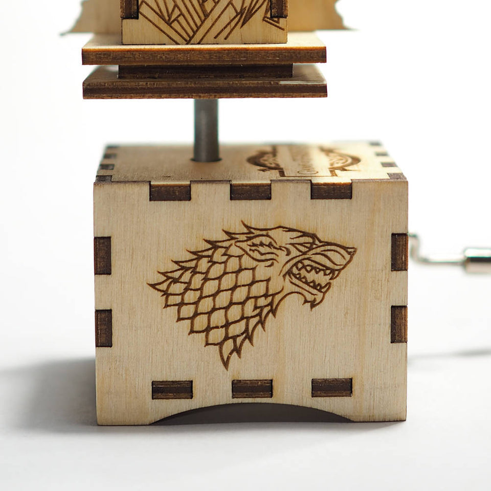 Game of Thrones Music Box - Iron Throne Opening Main Theme