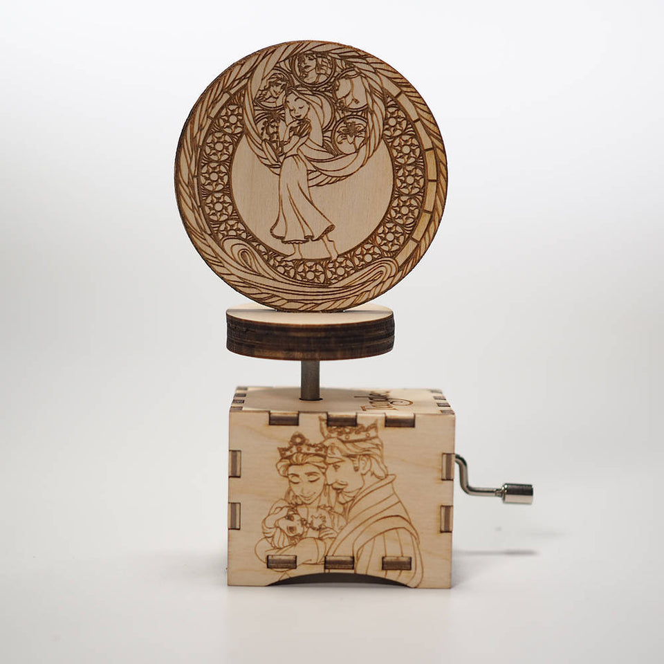 Tangled Music Box - When Will My Life Begin.