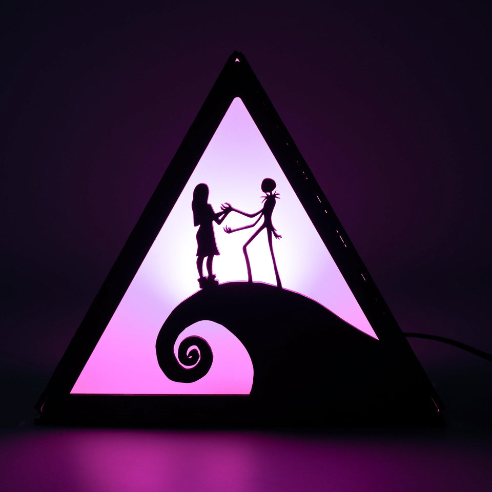 Nightmare Before Christmas Lamp - This is Halloween - Desk night light