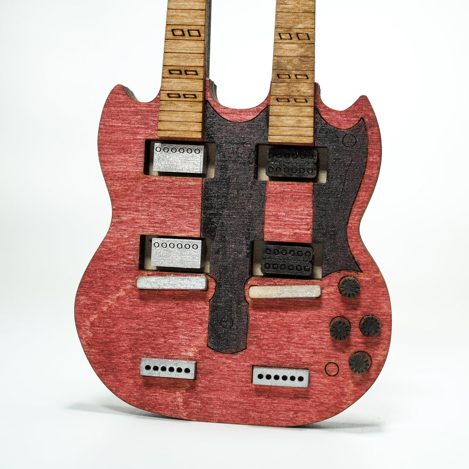 Jimmy Page Mini Guitar and Amplifier - Personalized Electronic Mp3 Music Box.