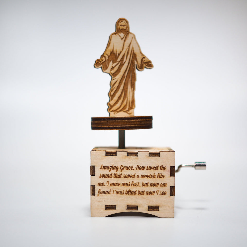 Religious Music Box - Amazing Grace.