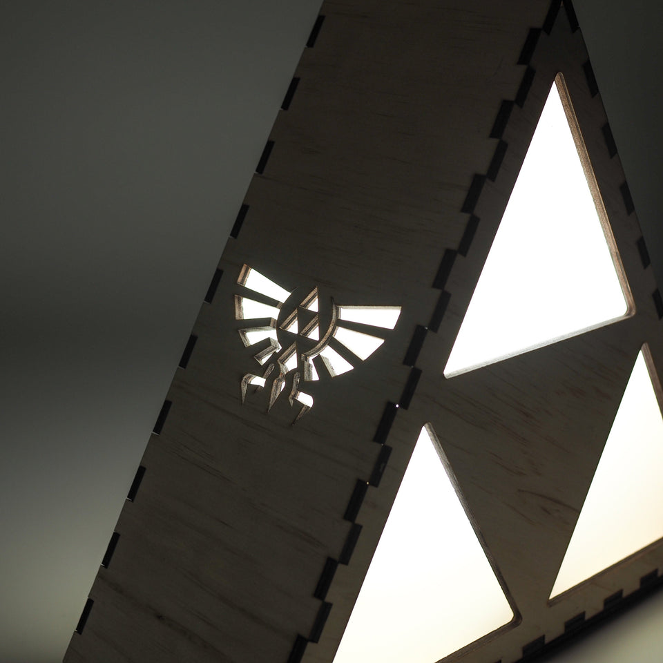 The Legend of Zelda Lamp - Triforce - Desk night light