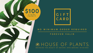 House of Plants Gift Card