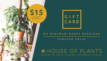 Load image into Gallery viewer, House of Plants Gift Card