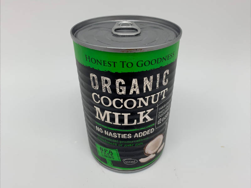 Organic Coconut Milk Cans (400ml)
