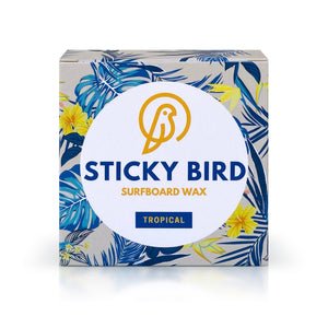 Sticky Bird Tropical/Base Surfboard Wax Gift Subscription