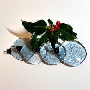 Indigo Christmas Tree Ornament