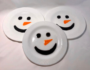 Load image into Gallery viewer, Snowman Plate