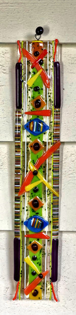 Abstract Totem - Narrow Wall Art
