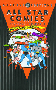 ALL STAR COMICS ARCHIVES HC VOL 08