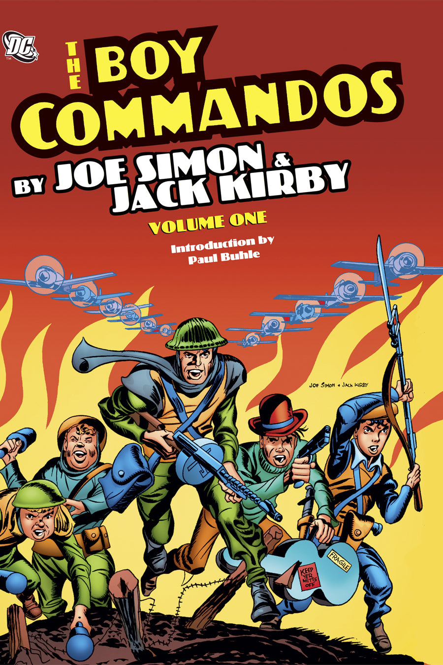 BOY COMMANDOS BY SIMON AND KIRBY HC VOL 01