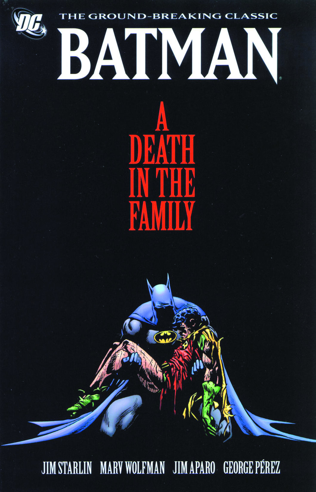 BATMAN A DEATH IN THE FAMILY TP NEW ED