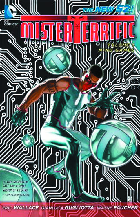 MISTER TERRIFIC TP VOL 01 MIND GAMES (N52)