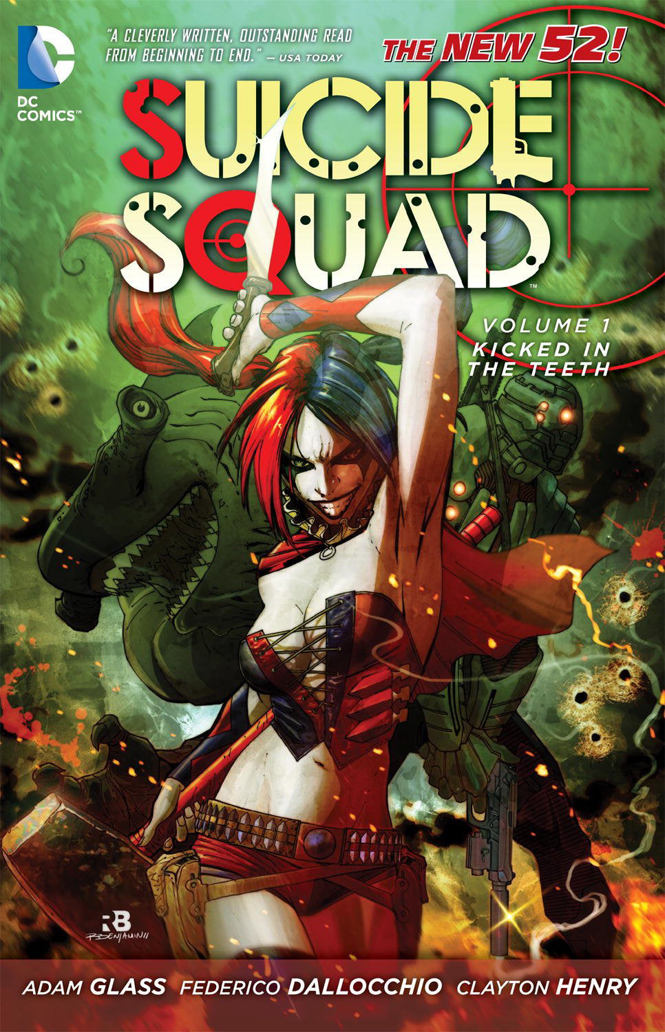 SUICIDE SQUAD TP VOL 01 KICKED IN THE TEETH (N52)