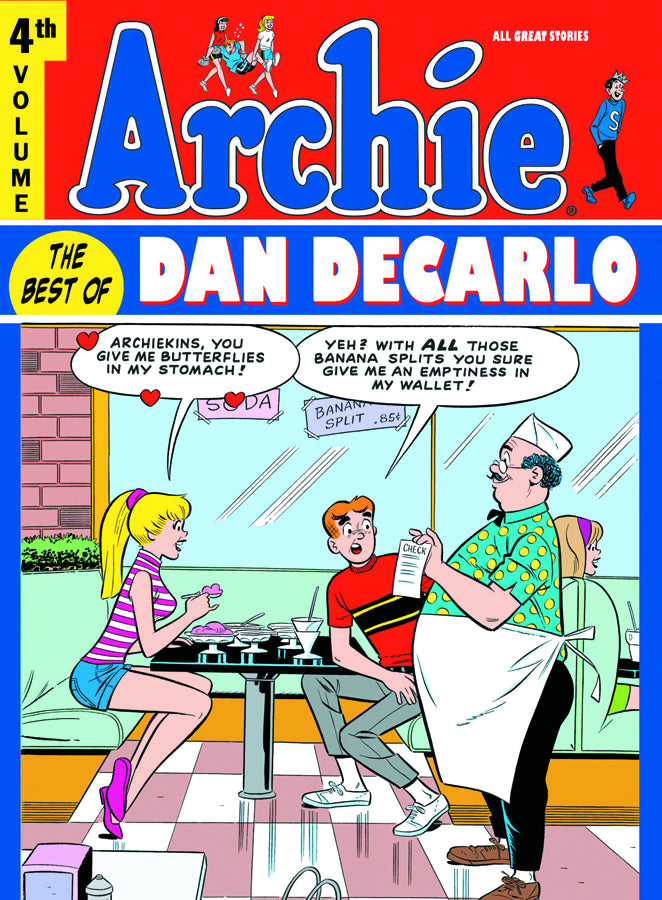 ARCHIE BEST OF DAN DECARLO HC VOL 04