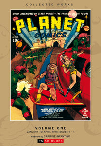 ROY THOMAS PRESENTS PLANET COMICS HC VOL 01 (C: 0-1-2)