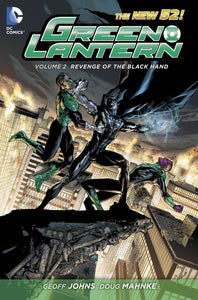 GREEN LANTERN HC VOL 02 REVENGE OF BLACK HAND (N52)