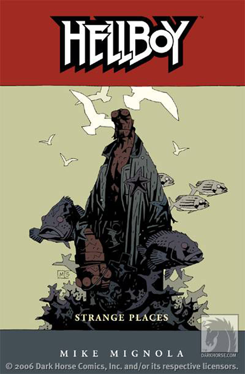 HELLBOY TP VOL 06 STRANGE PLACES (NEW PTG)