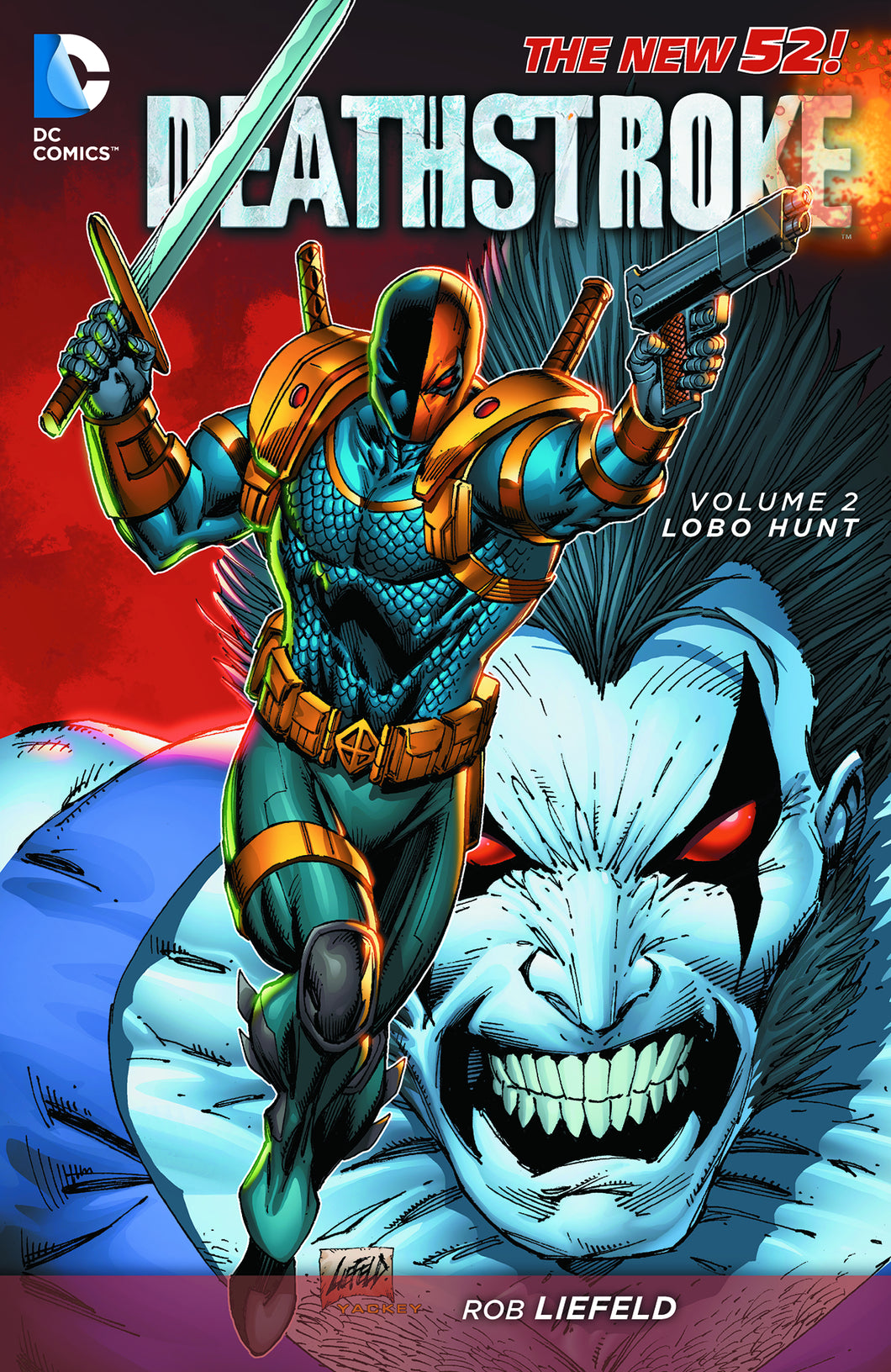DEATHSTROKE TP VOL 02 LOBO HUNT (N52)