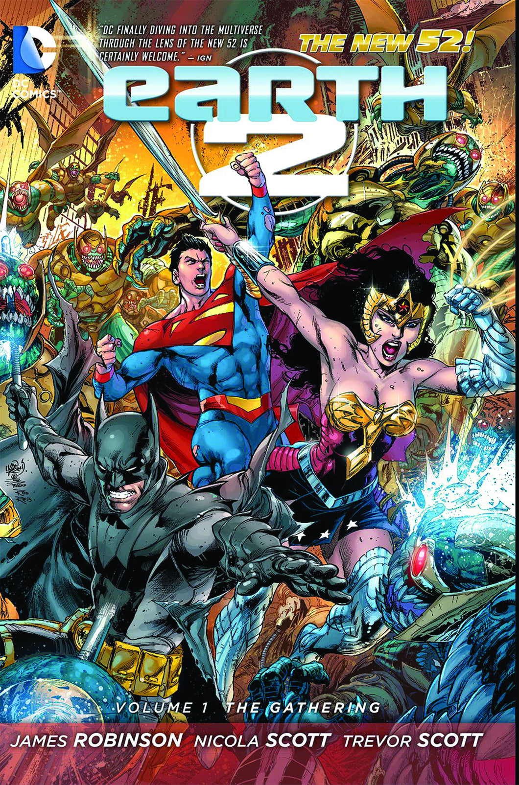 EARTH 2 TP VOL 01 THE GATHERING (N52)