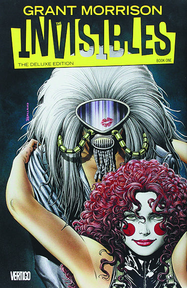 INVISIBLES HC BOOK 01 DELUXE EDITION (MR)