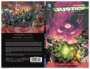 JUSTICE LEAGUE HC VOL 04 THE GRID (N52)