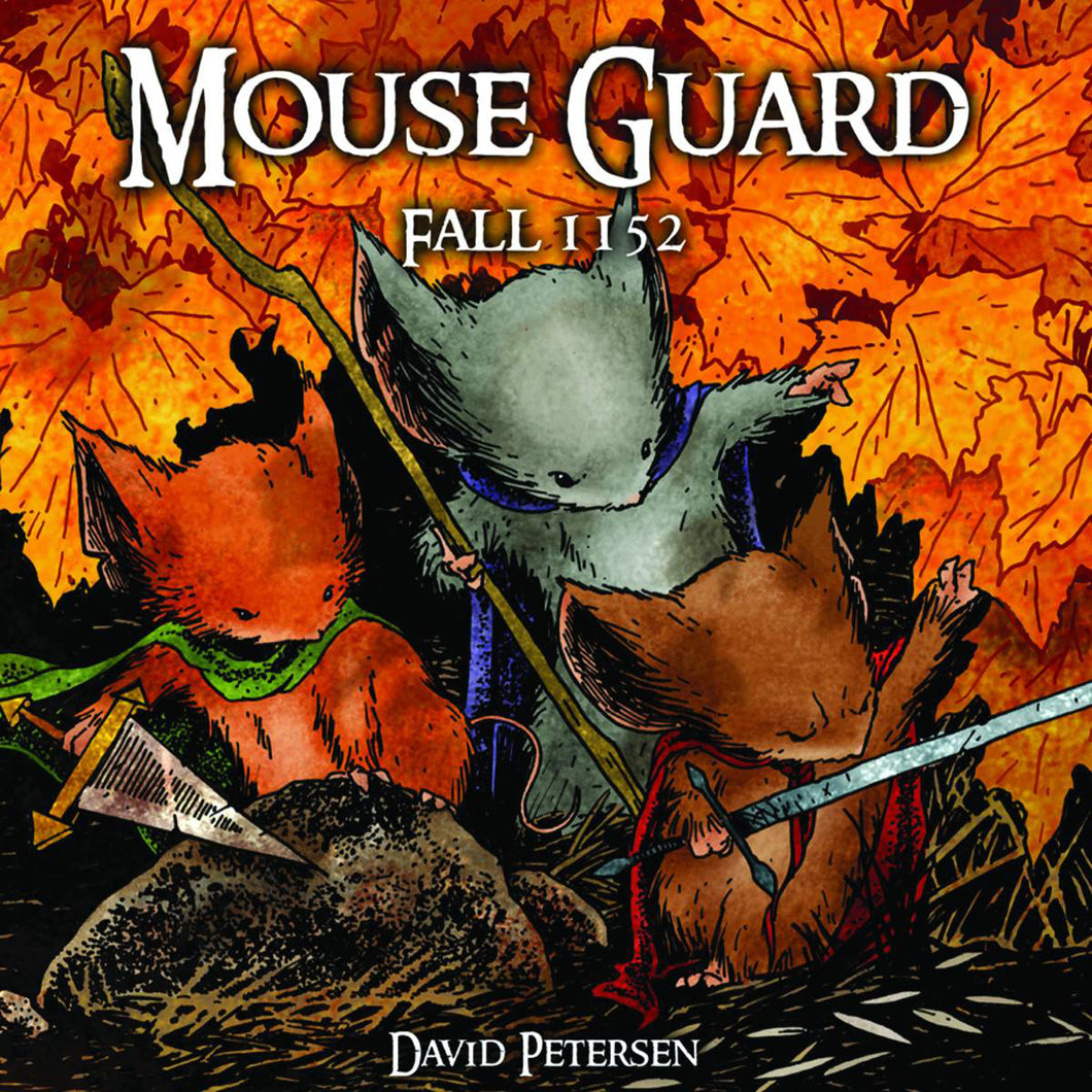 MOUSE GUARD HC VOL 01 FALL 1152 DUST JACKET