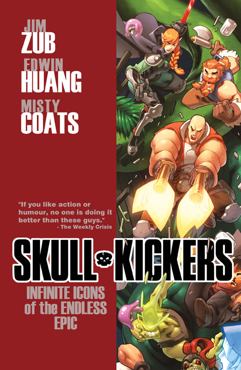 SKULLKICKERS TP VOL 06 INFINITE ICONS O/T ENDLESS EPIC