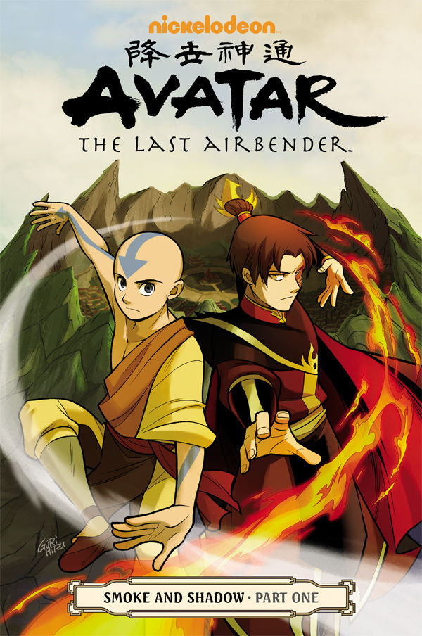 AVATAR LAST AIRBENDER TP VOL 10 SMOKE & SHADOW PART 1 (C: 1-