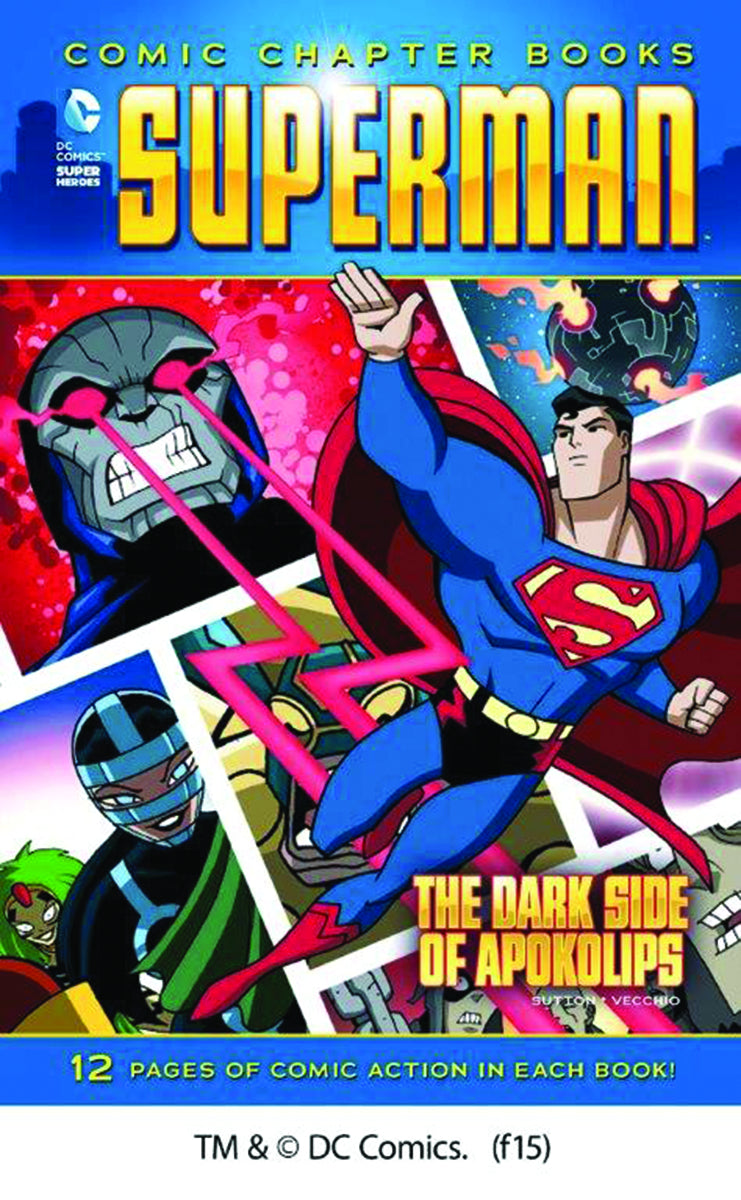 DC SUPER HEROES SUPERMAN YR TP DARK SIDE OF APOKOLIPS