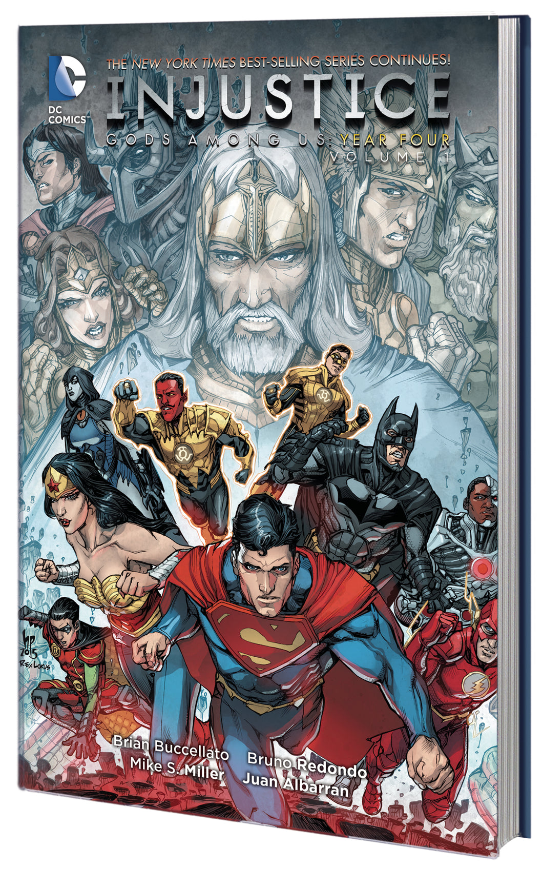 INJUSTICE GODS AMONG US YEAR FOUR TP VOL 01