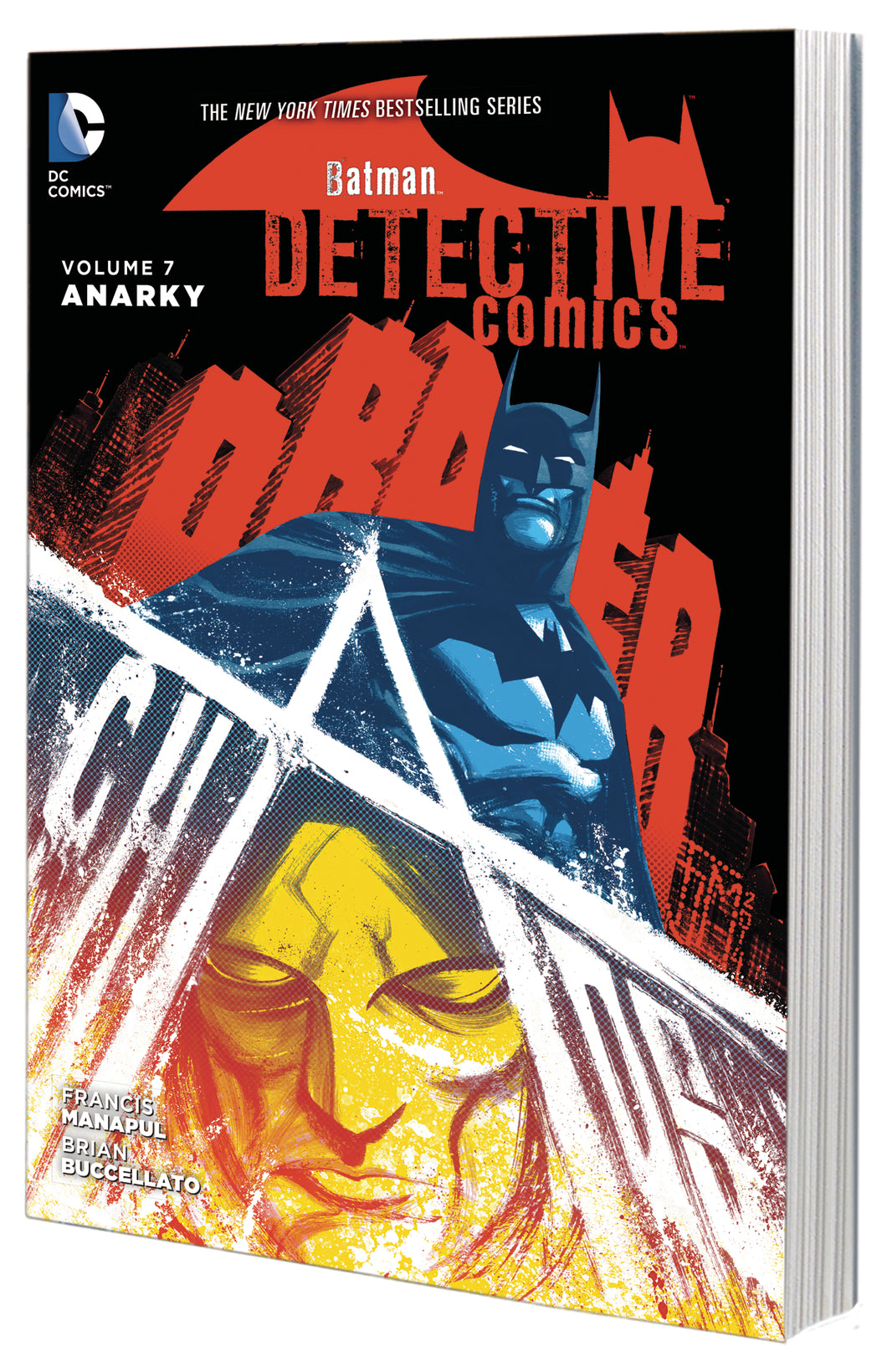 BATMAN DETECTIVE COMICS TP VOL 07 ANARKY