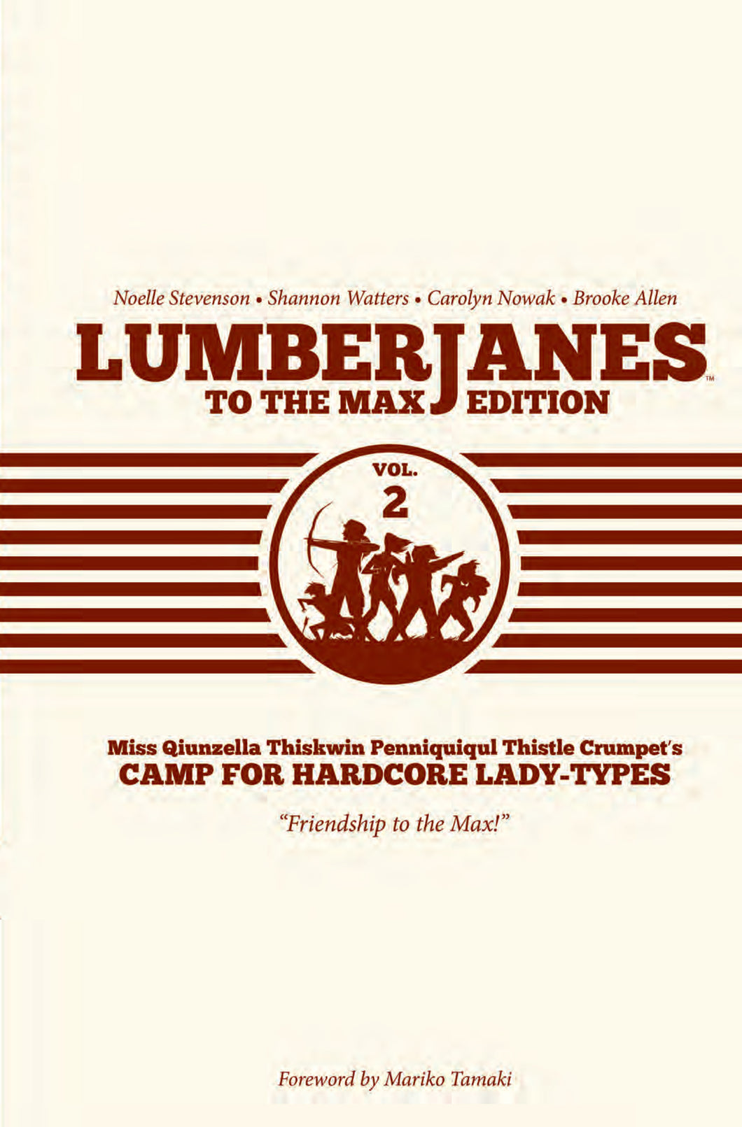 LUMBERJANES TO MAX ED HC VOL 02 (C: 0-1-2)