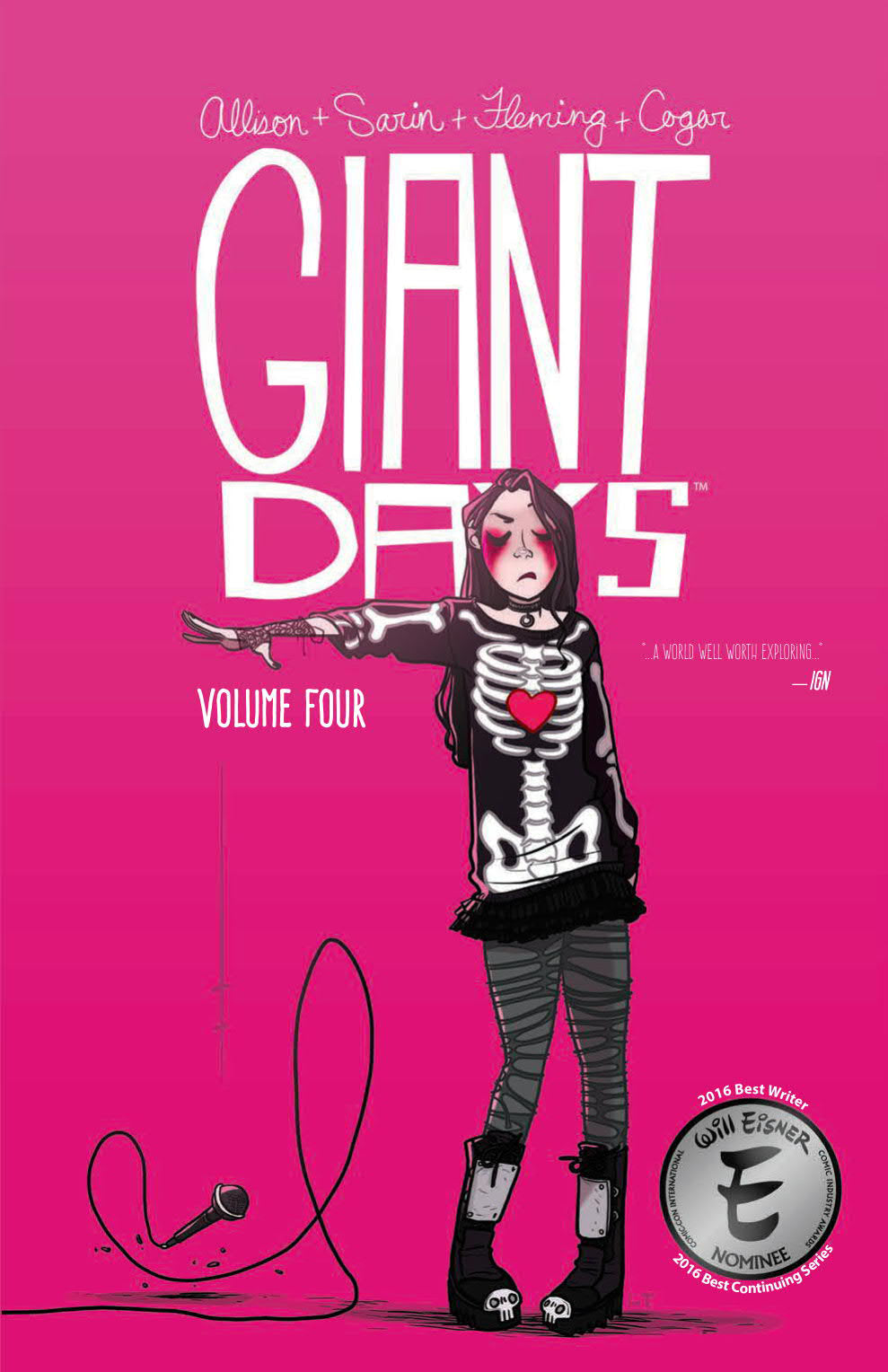 GIANT DAYS TP VOL 04 (C: 0-1-2)