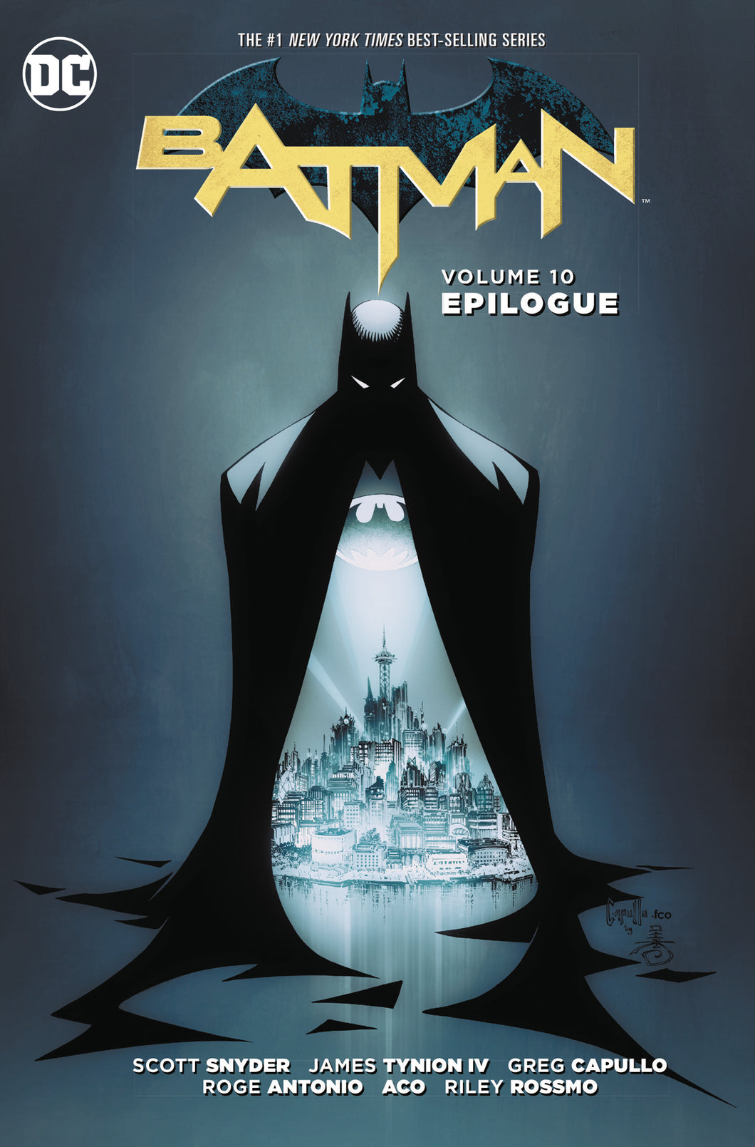 BATMAN TP VOL 10 EPILOGUE