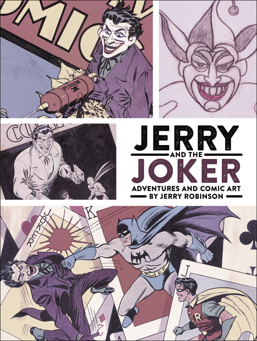JERRY & JOKER ADVENTURES & COMIC ART HC (C: 0-1-2)