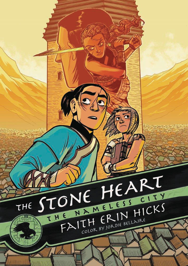 NAMELESS CITY GN VOL 02 (OF 3) STONE HEART (C: 1-1-0)