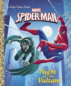 SPIDER MAN NIGHT OF VULTURE LITTLE GOLDEN BK (C: 1-1-0)