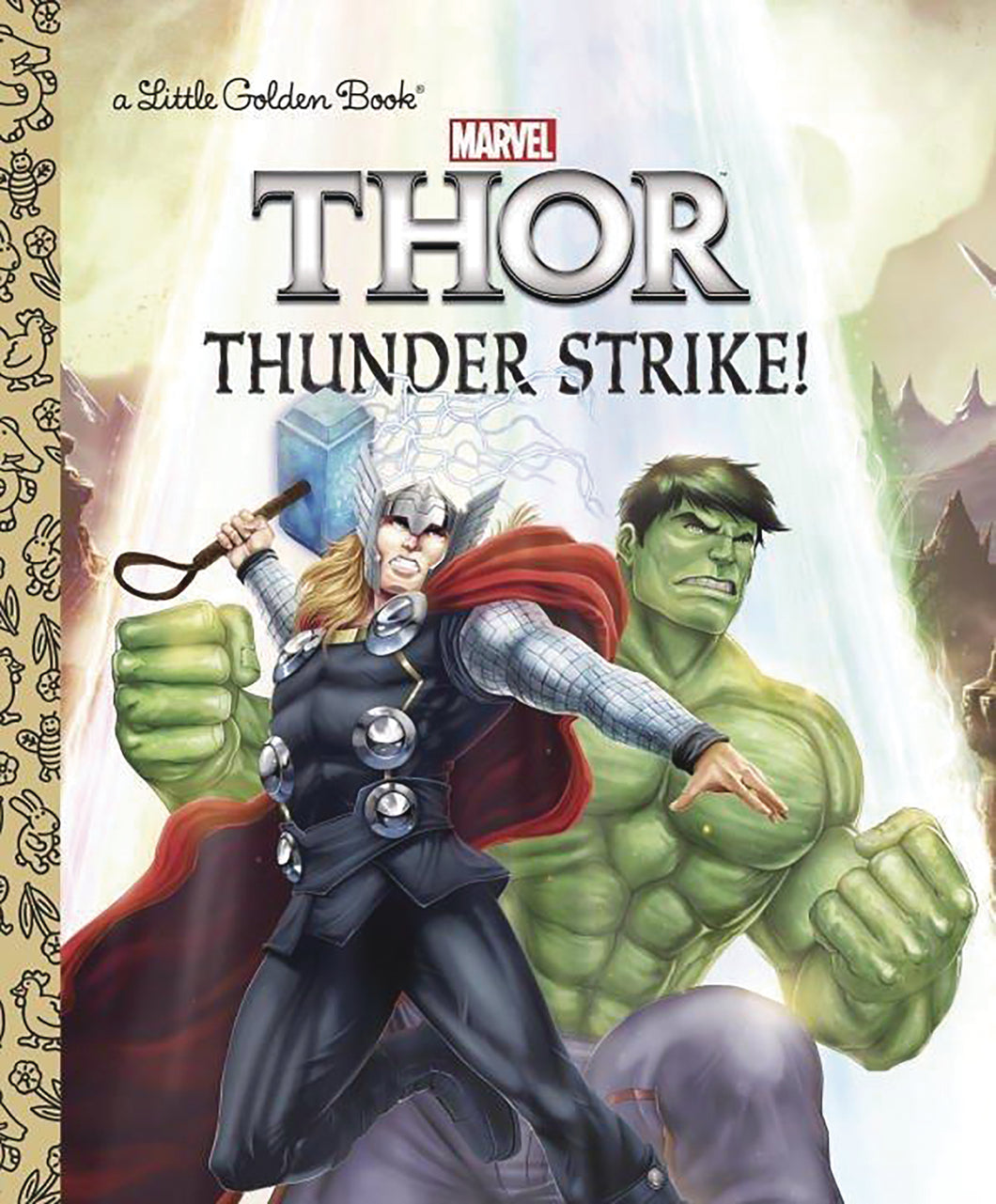 MIGHTY THOR LITTLE GOLDEN BOOK THUNDER STRIKE (C: 1-1-0)