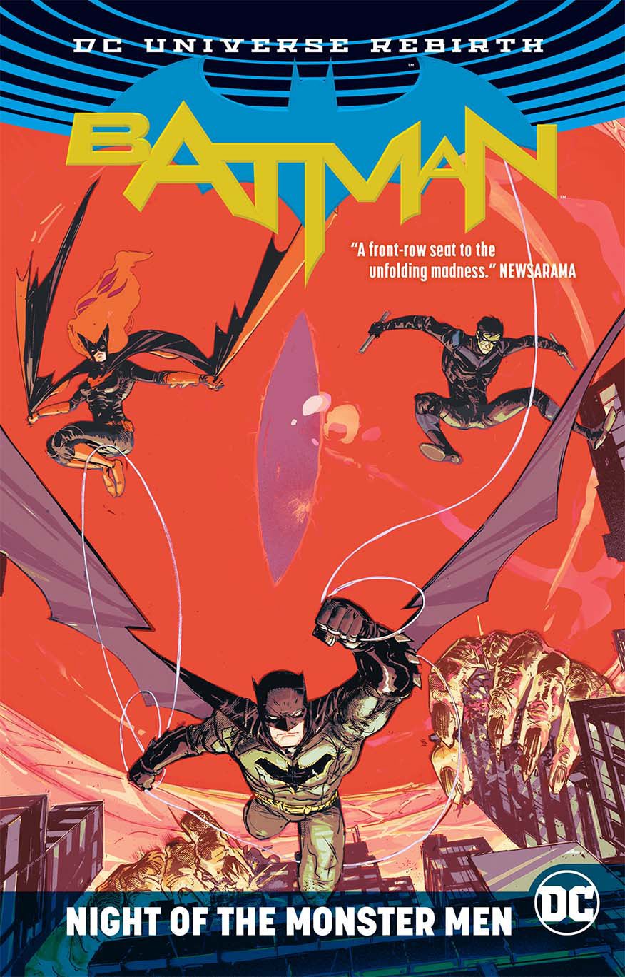 BATMAN NIGHT OF THE MONSTER MEN TP (REBIRTH)