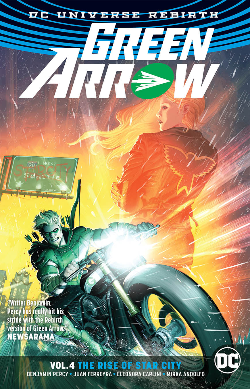 GREEN ARROW TP VOL 04 THE RISE OF STAR CITY (REBIRTH) (RES)
