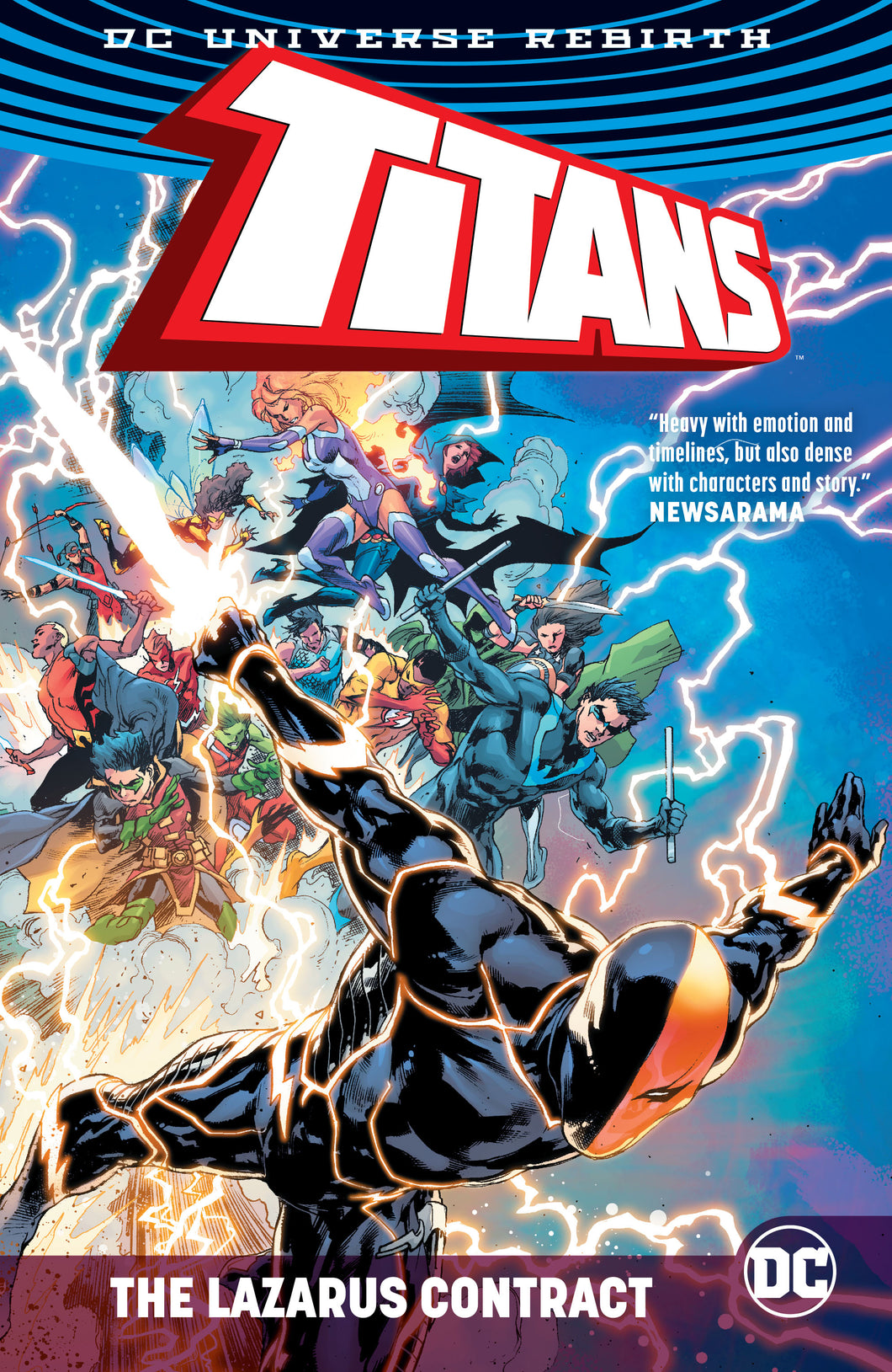 TITANS THE LAZARUS CONTRACT HC