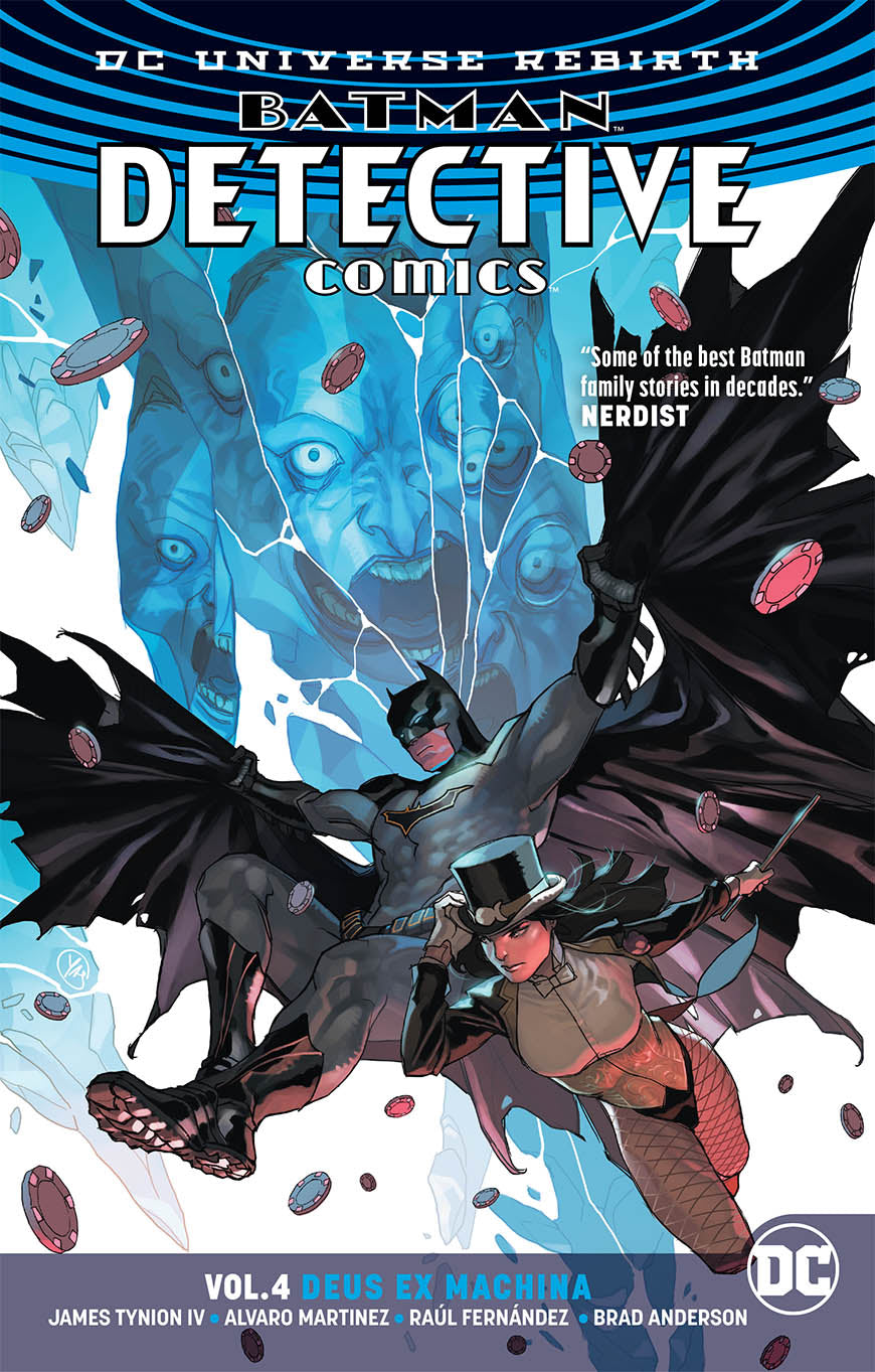BATMAN DETECTIVE TP VOL 04 DEUS EX MACHINA (REBIRTH)